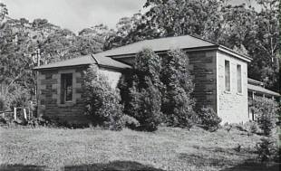 Another view of Sherbrooke School - which was destroyed in 1968 Bushfires