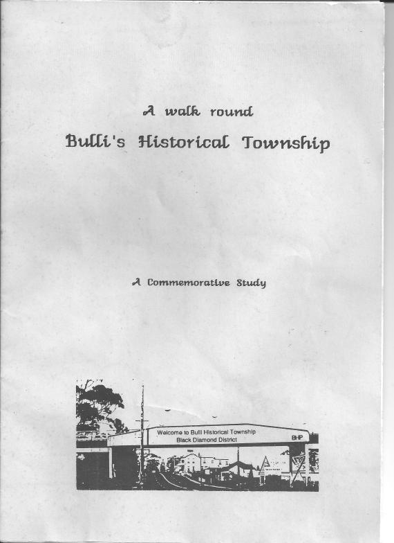 A Walk around Bulli's Historical Township