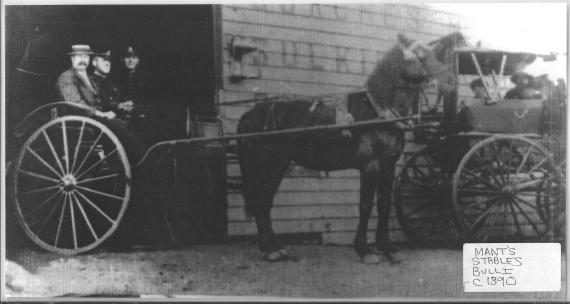 BDHC Mant Livery stable 1890